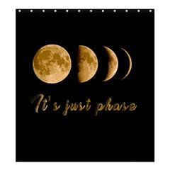 Moon phases  Shower Curtain 66  x 72  (Large)