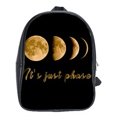 Moon phases  School Bags(Large)