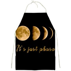 Moon phases  Full Print Aprons