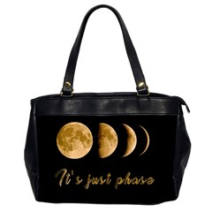 Moon phases  Office Handbags (2 Sides)
