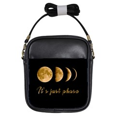 Moon phases  Girls Sling Bags
