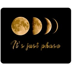 Moon phases  Fleece Blanket (Medium)