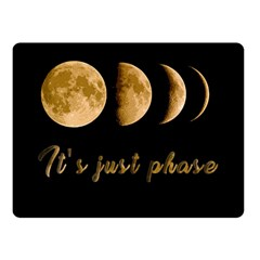 Moon phases  Fleece Blanket (Small)