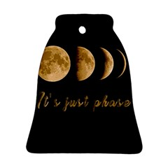 Moon phases  Bell Ornament (Two Sides)