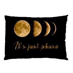 Moon phases  Pillow Case (Two Sides)