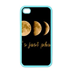 Moon phases  Apple iPhone 4 Case (Color)