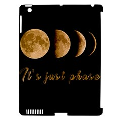 Moon phases  Apple iPad 3/4 Hardshell Case (Compatible with Smart Cover)