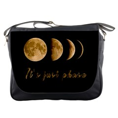 Moon phases  Messenger Bags