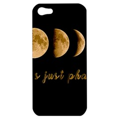 Moon phases  Apple iPhone 5 Hardshell Case
