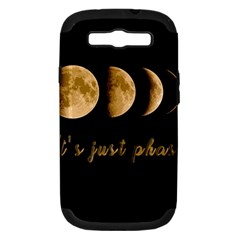 Moon phases  Samsung Galaxy S III Hardshell Case (PC+Silicone)