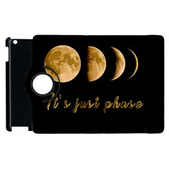 Moon phases  Apple iPad 2 Flip 360 Case