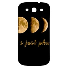 Moon phases  Samsung Galaxy S3 S III Classic Hardshell Back Case