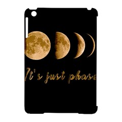 Moon phases  Apple iPad Mini Hardshell Case (Compatible with Smart Cover)