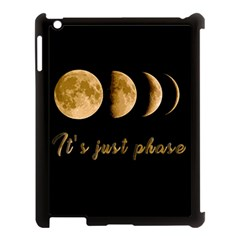 Moon phases  Apple iPad 3/4 Case (Black)