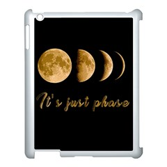 Moon phases  Apple iPad 3/4 Case (White)