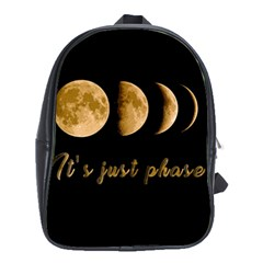 Moon phases  School Bags (XL)