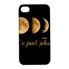 Moon phases  Apple iPhone 4/4S Hardshell Case with Stand