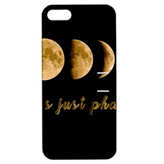 Moon phases  Apple iPhone 5 Hardshell Case with Stand