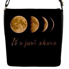 Moon phases  Flap Messenger Bag (S)