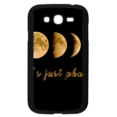 Moon phases  Samsung Galaxy Grand DUOS I9082 Case (Black)