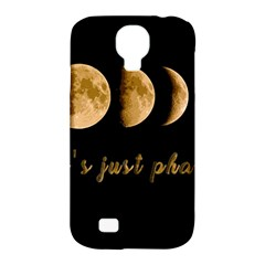 Moon phases  Samsung Galaxy S4 Classic Hardshell Case (PC+Silicone)
