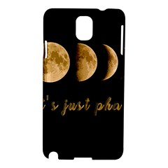 Moon phases  Samsung Galaxy Note 3 N9005 Hardshell Case