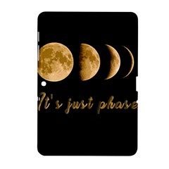 Moon phases  Samsung Galaxy Tab 2 (10.1 ) P5100 Hardshell Case
