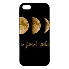 Moon phases  iPhone 5S/ SE Premium Hardshell Case