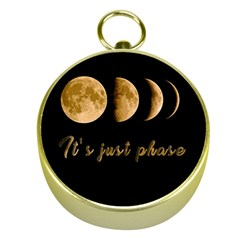 Moon phases  Gold Compasses