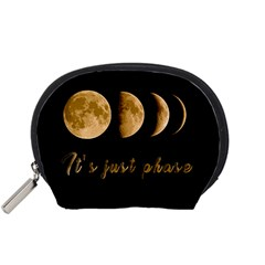 Moon phases  Accessory Pouches (Small)