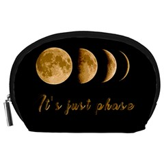 Moon phases  Accessory Pouches (Large)