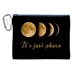Moon phases  Canvas Cosmetic Bag (XXL)