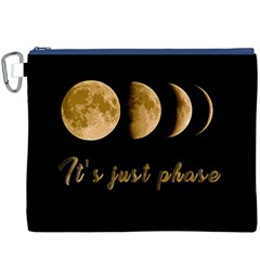 Moon phases  Canvas Cosmetic Bag (XXXL)