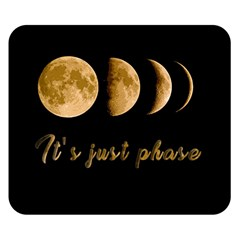 Moon phases  Double Sided Flano Blanket (Small)