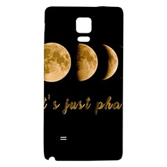 Moon phases  Galaxy Note 4 Back Case