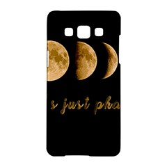 Moon phases  Samsung Galaxy A5 Hardshell Case
