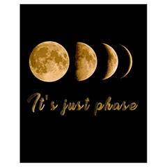 Moon phases  Drawstring Bag (Small)