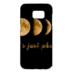 Moon phases  Samsung Galaxy S7 Edge Hardshell Case
