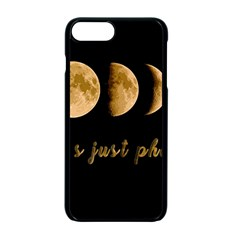 Moon phases  Apple iPhone 7 Plus Seamless Case (Black)