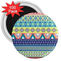 Tribal Print 3  Magnets (100 pack)