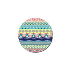 Tribal Print Golf Ball Marker (10 Pack)