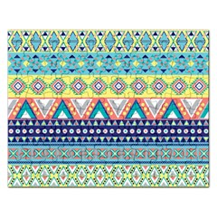 Tribal Print Rectangular Jigsaw Puzzl