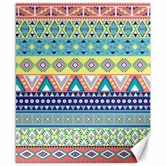 Tribal Print Canvas 8  X 10