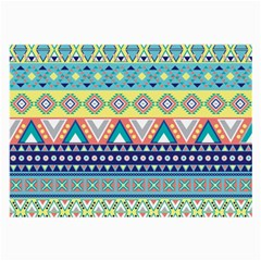 Tribal Print Large Glasses Cloth (2-Side)