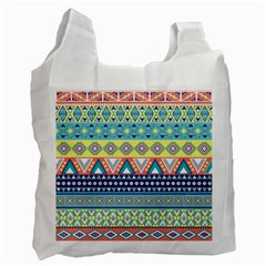 Tribal Print Recycle Bag (Two Side)