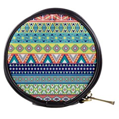 Tribal Print Mini Makeup Bags