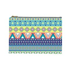 Tribal Print Cosmetic Bag (Large)