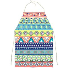 Tribal Print Full Print Aprons