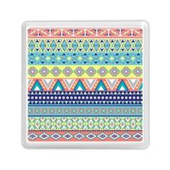 Tribal Print Memory Card Reader (square)