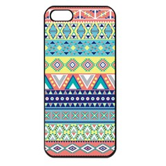 Tribal Print Apple iPhone 5 Seamless Case (Black)